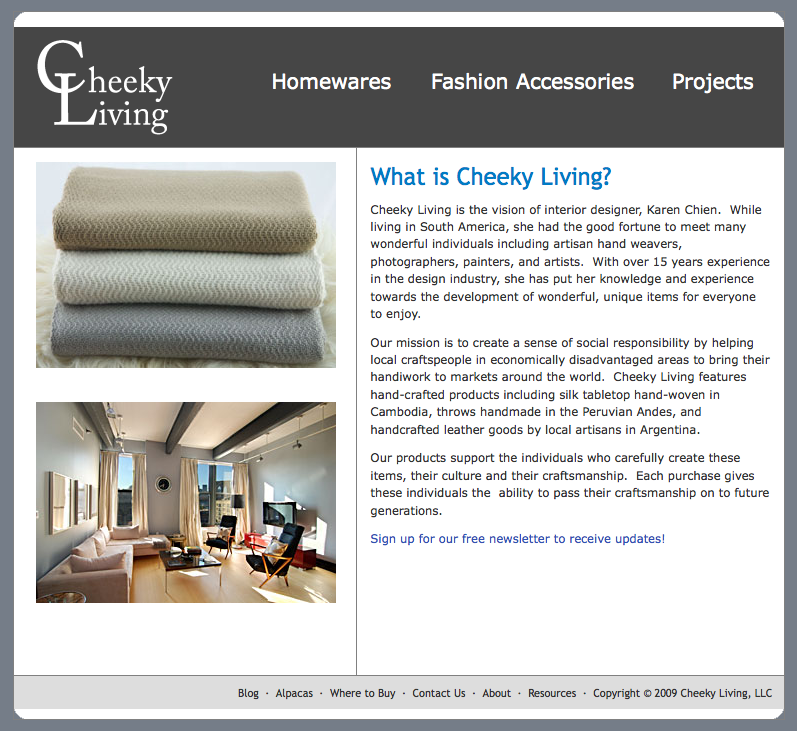 New Products at Cheeky Living