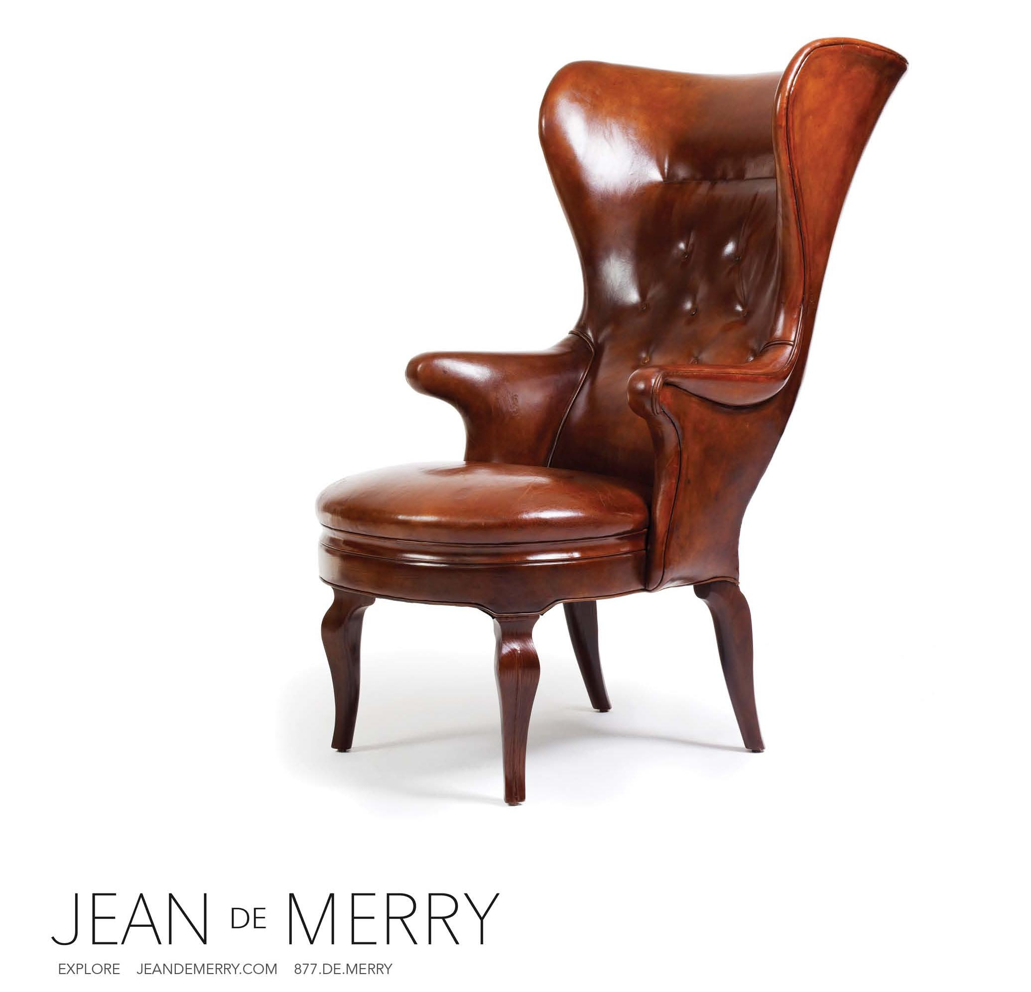 Jean de Merry's Aland Wing Chair