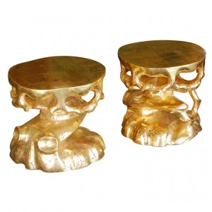 Gold Truffle Table from Paul Marra