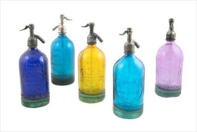 Siphone Seltzer Bottles