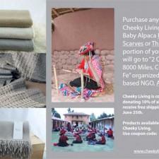 2 Quechua Girls, 8000 Miles, Cusco to Santa Fe