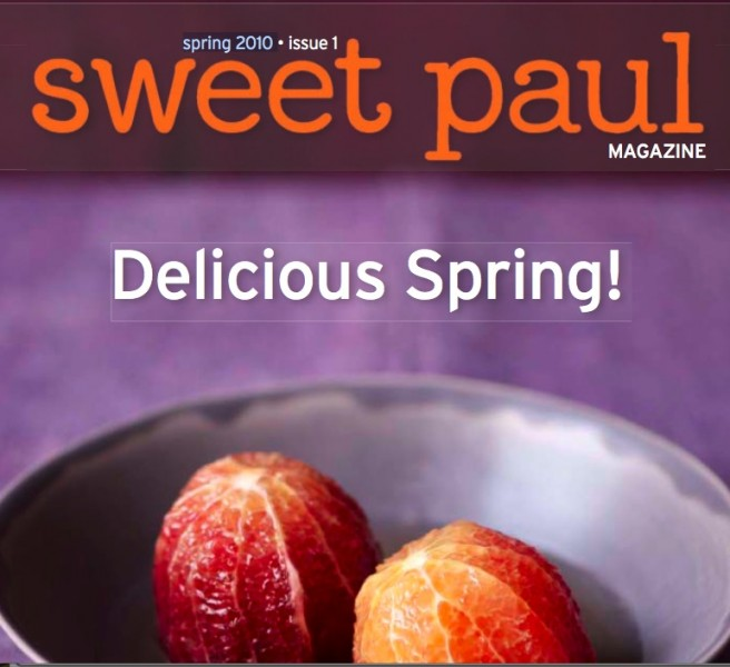 Sweet Paul Mag Spring 2010 Cover