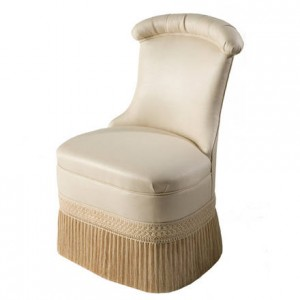 Draper Slipper Chair by Kindel Furniture