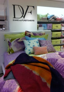 Floral Batik Duvet mixed with Lavanda Sheets at Bloomingdale's