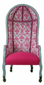 Vintage Top Bonnet Chair from Sultan Chic