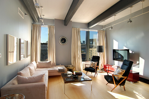 DUMBO Loft Living Area