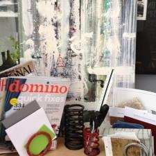 DIY Organizing:  Vintage Industrial Coils